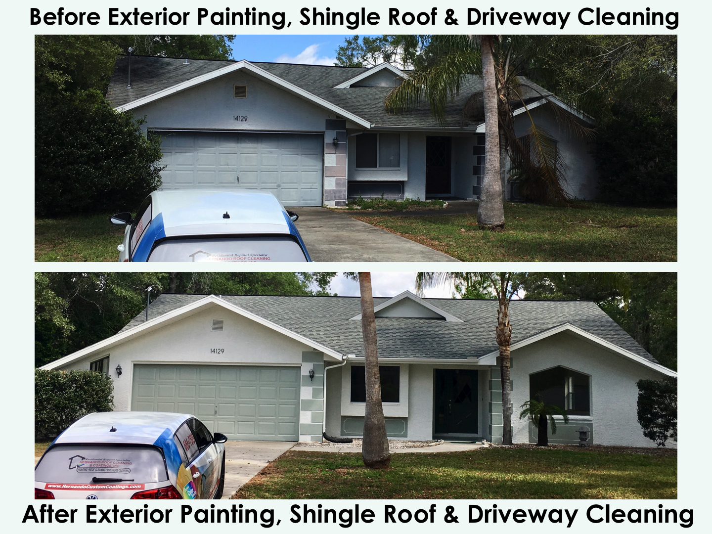 38 Before Amp After Exterior Painting Shingle Roof Cleaning