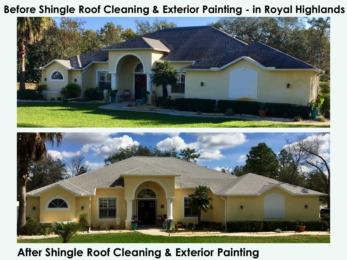 Shingle Amp Tile Roof Cleaning Hernando Roof Cleaning